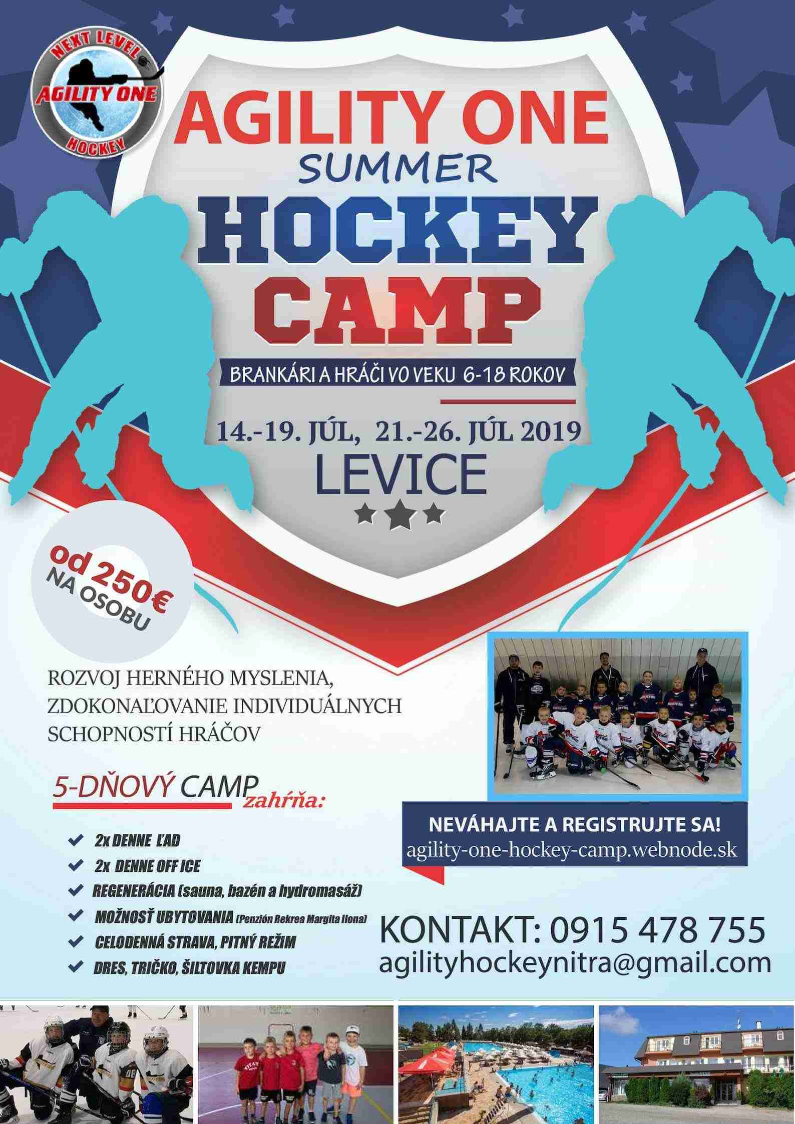 Agility one summer hockey camp