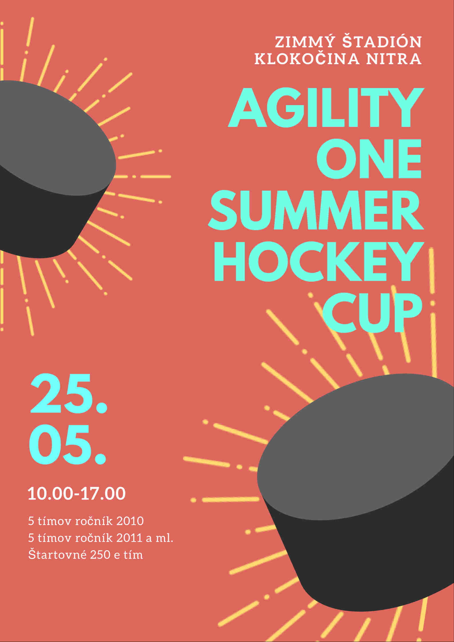 Agility one summer hockey cup